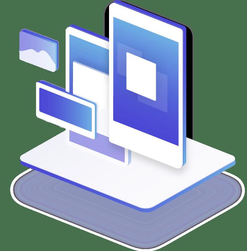 Dispositivos electrónicos visión web